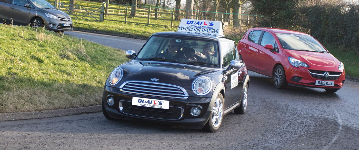 Driving instructor training Wirral