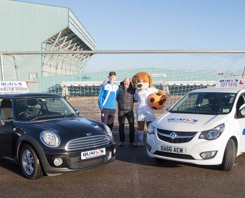 Driving school with Tranmere Rovers