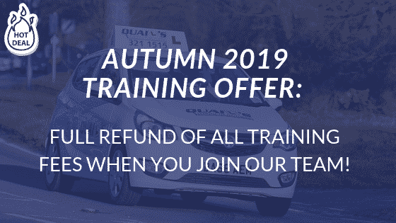 Driving Instructor Autumn Offer 2019