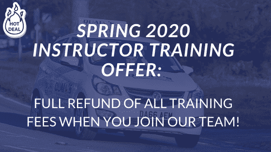 Spring-2020-DRIVER-INSTRUCTOR-TRAINING-OFFER